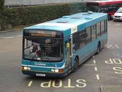 Stay-cation: Arriva Harlow Volvo B10BLE/Wright Renown PN02HVL (3312) Harlow Bus Station 20/10/17