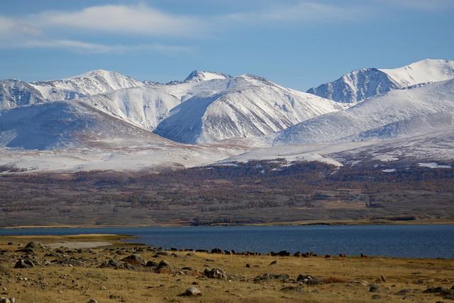 Khorgon Lake, Altai Tavan Bogd Nat. Park