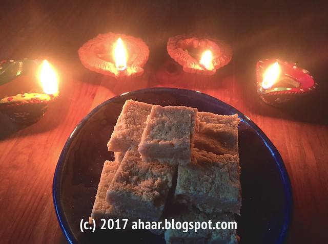 7 cup barfi for Diwali