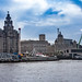 Waterfront, River Mersey. Liverpool. UK