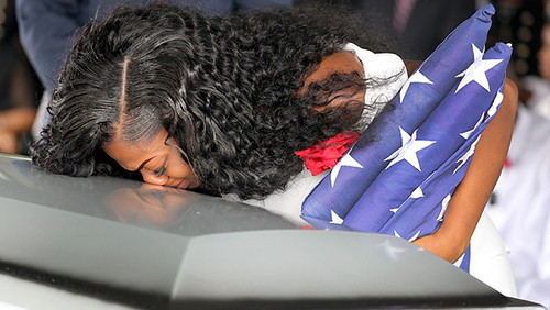 Myeshia Johnson Recalls Donald Trump Call: It Hurt That He Couldn't Remember My Husband's Name