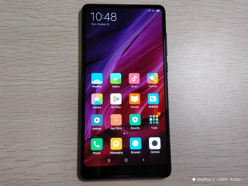 Xiaomi mi mix 2 開封レビュー (31)