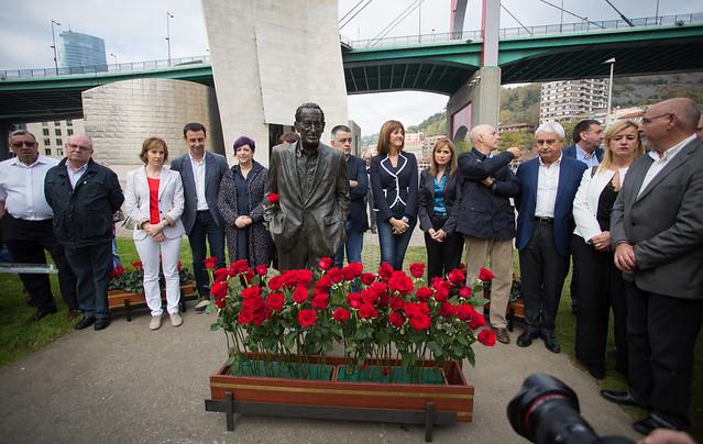 Acto conmemorativo del nacimiento de Ramón Rubial