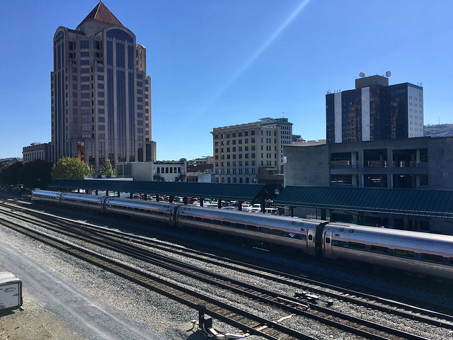 Amtrak Train - Roanoke