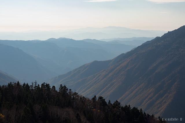 Shinhotaka Ropeway 2017.10.27 (11) distant view of Mount Haku (Haku-san)
