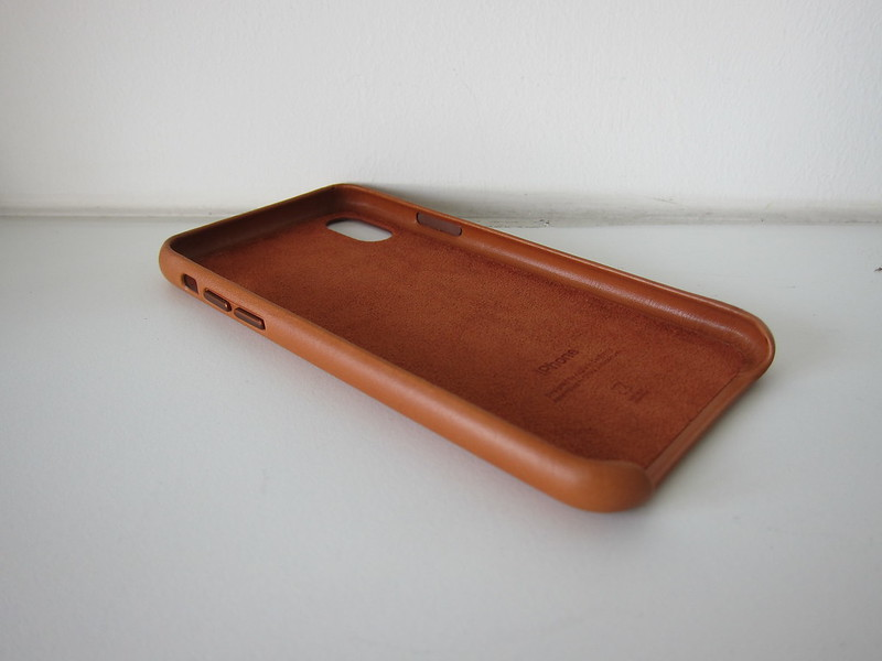 Apple iPhone X Leather Case