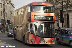 Wrightbus NRM NBFL - LTZ 1161 - LT161 - Coca-Cola - Hammersmith 9 - RATP Group - London 2016 - Steven Gray - IMG_5046