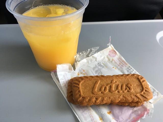Biscoff cookies - United Airlines