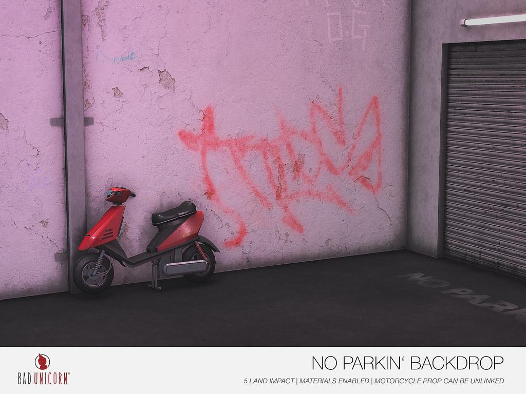 NEW! No Parkin' Backdrop @ TMD - TeleportHub.com Live!