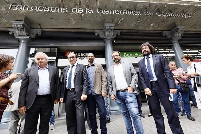 Presentació del projecte de desenvolupament ferroviari Espai Sabadell Rambla