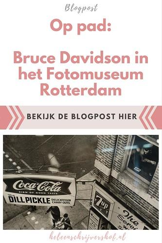 Op pad- Bruce Davidson in het Fotomuseum Rotterdam
