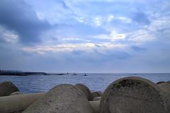 Seascape in Jeju Island