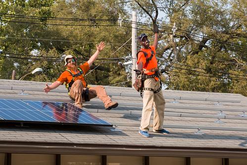 Solar Panels on Wilson House