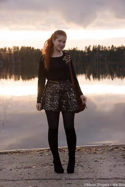 Tyylibloggaaja päivän asu suomalainen bloggaaja