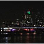 Wandering around night time London.
