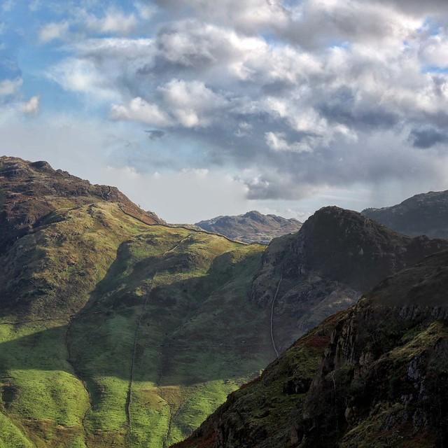 Side Pike and Lingmoor Fell.