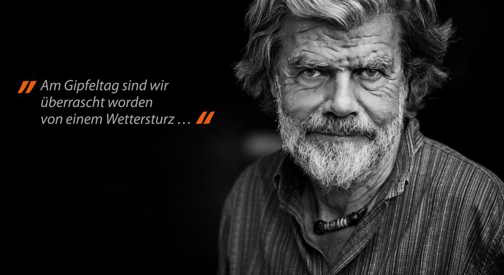 Porträt Reinhold Messner