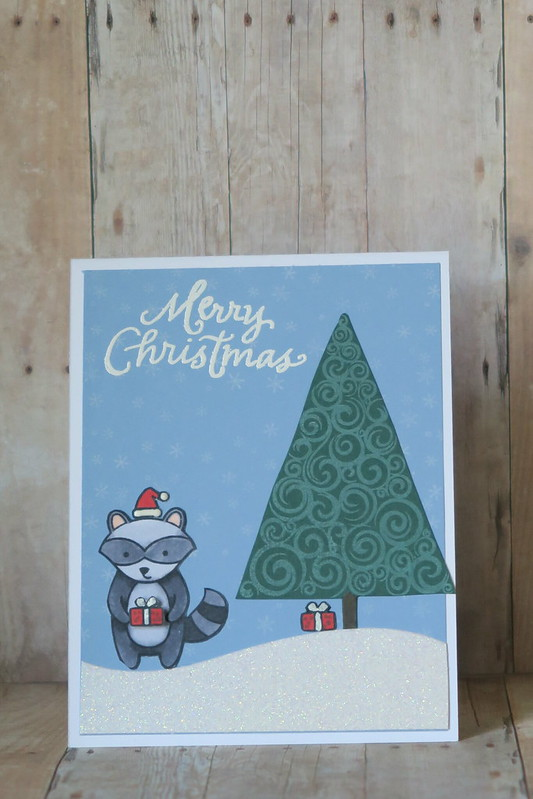 Raccoon Christmas