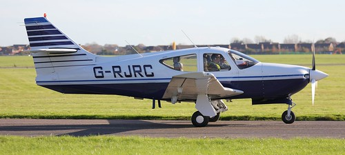 Rockwell Commander 114B G-RJRC Lee on Solent Airfield 2017 | by SupaSmokey