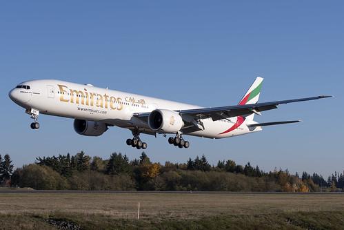 Emirates Boeing 777-300ER A6-EQH
