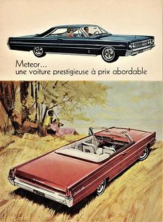 1966 Meteor Montcalm S33 Hardtop & Convertible