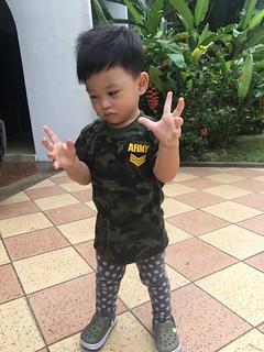 Zafeer @ 1yo 11 months