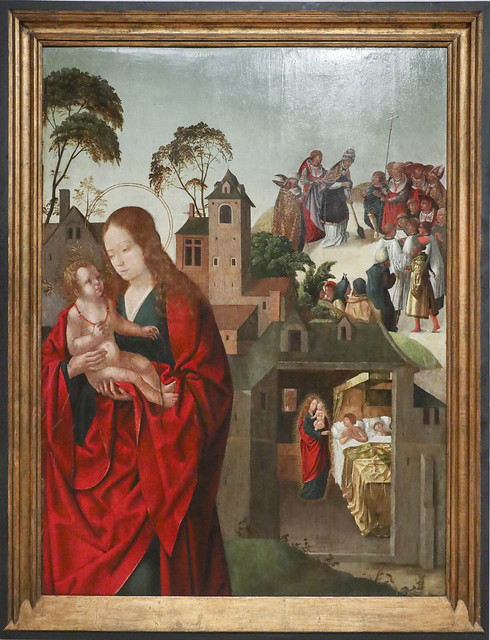 The Virgin of the Snow, 1508-12, Francisco Henriques
