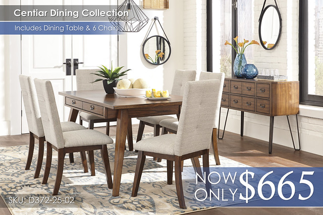 Centiar Dining Set D372-25-02(6)-60