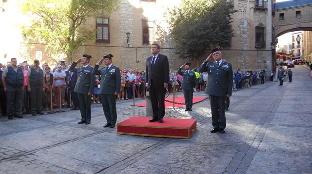 Izado de la Bandera en Toledo