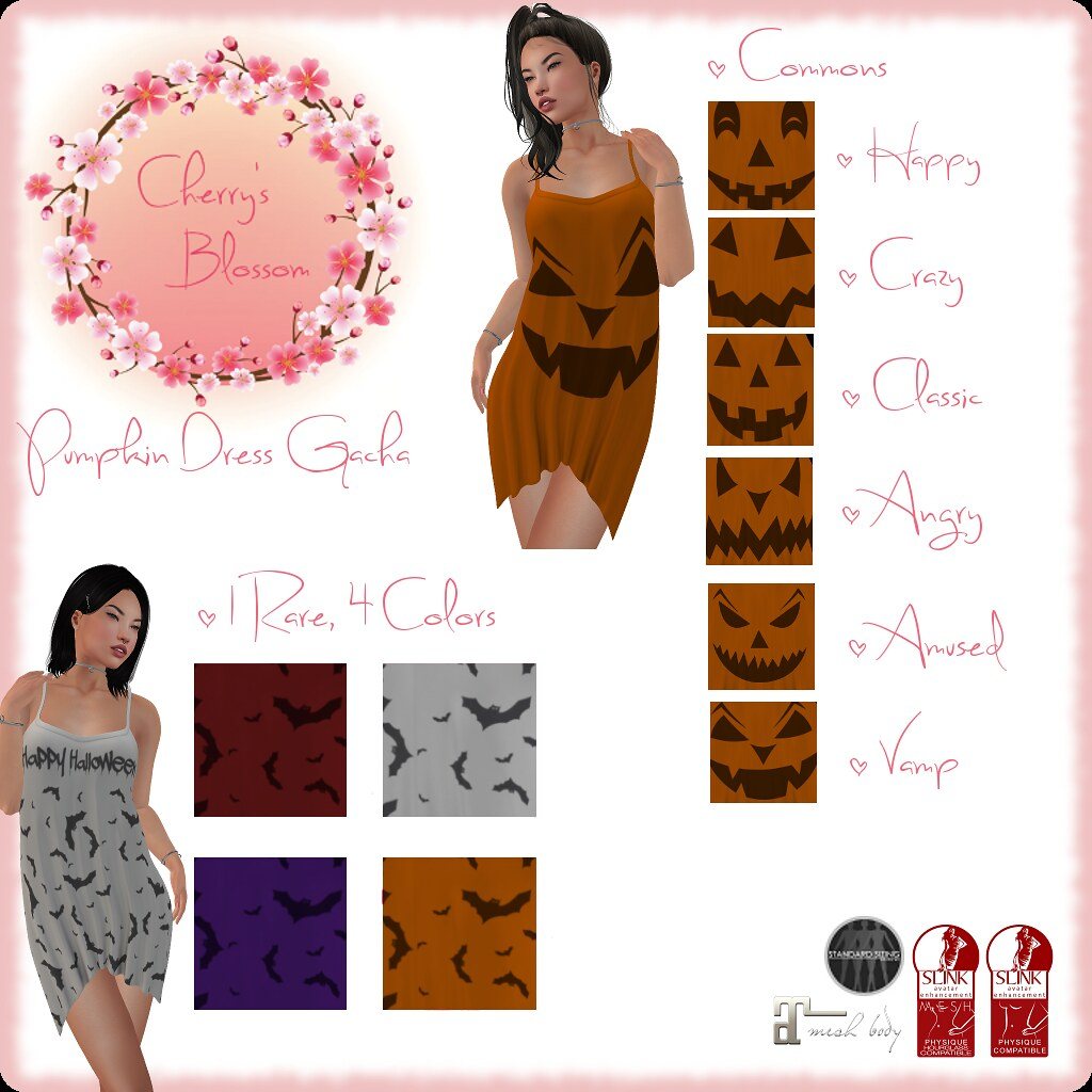 Pumpkin Dress Gacha - TeleportHub.com Live!