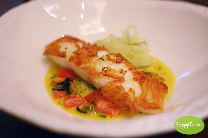 Seared Patagonian Tooth Fish