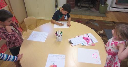 drawing jack-o-lanterns protocol