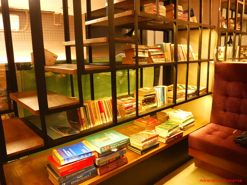 Mini Library at Book Latte