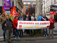 Paris protest, 10-10-2017
