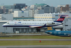 Ibex Airlines (ANA Connection) Canadair CL-600-2C10 Regional Jet CRJ-702 JA07RJ