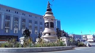 Pioneer Monument görüntü.