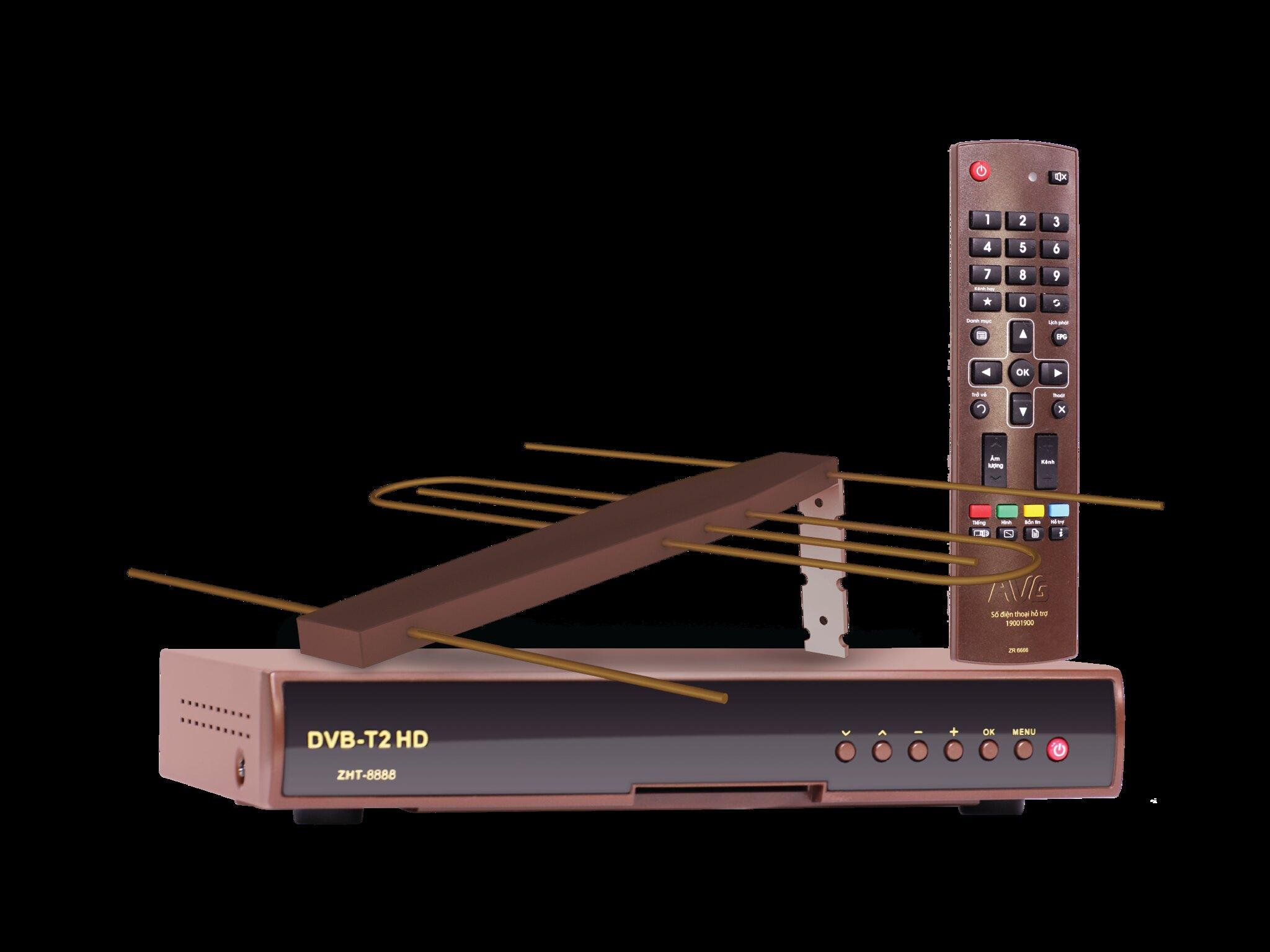 DVB-T2 MOBITV ANTEN NGOAI TROI