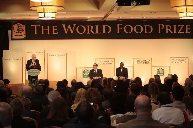 Opening ceremony of the 2017 Borlaug Dialogue Symposium, 18th October 2017