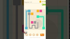 Puzzledom CONNECT Level 6 to 20 Game Regular A Complete Lines In Mutiple Colours Gameplay   OVAL