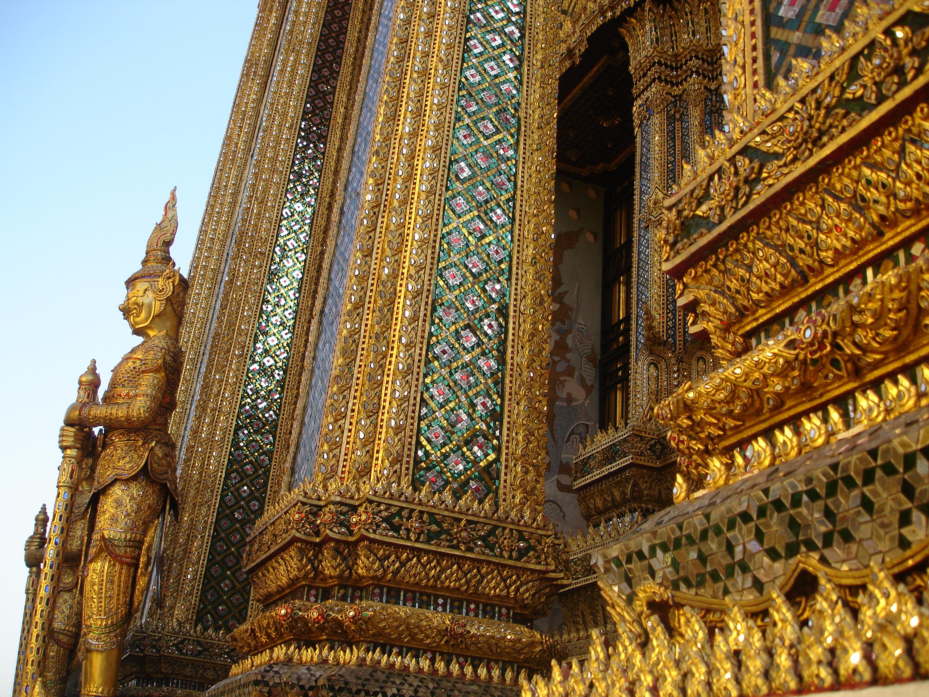 Grand Palace in Bangkok. Photo taken by Mark Jochim on January 8, 2006.