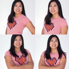 "A photographer posed me in a variety of ""flattering"" poses earlier this month at a Googley event - which is best?"