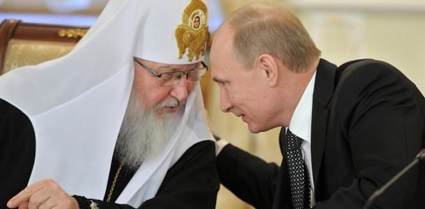 Patriarhul Rusiei, membru al KGB-ului odios si criminal, mai criminal si mai odios decat toate mafiile din lume la un loc