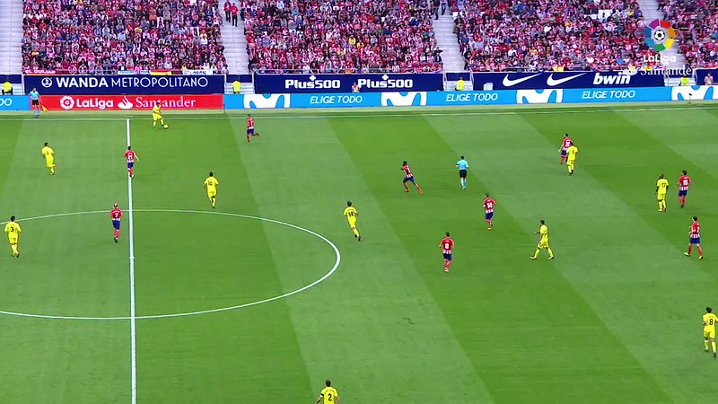 Resumen de Atlético de Madrid vs Villarreal CF (1-1)