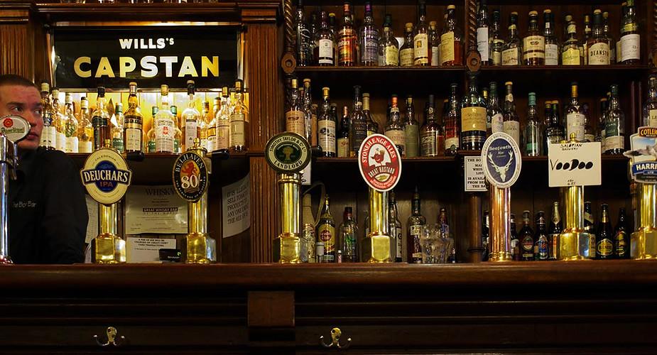 De beste pubs van Edinburgh: Bow Bar (foto met dank aan Bow Bar) | Mooistestedentrips.nl