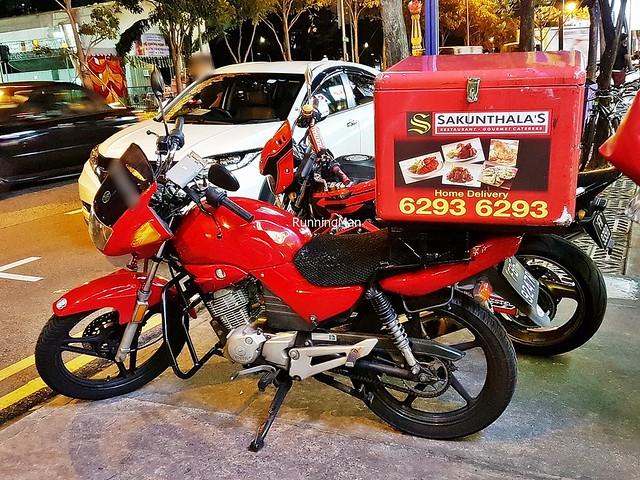 Sakunthala's Delivery Motorcycle