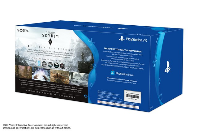 PlayStation VR Skyrim VR Bundle