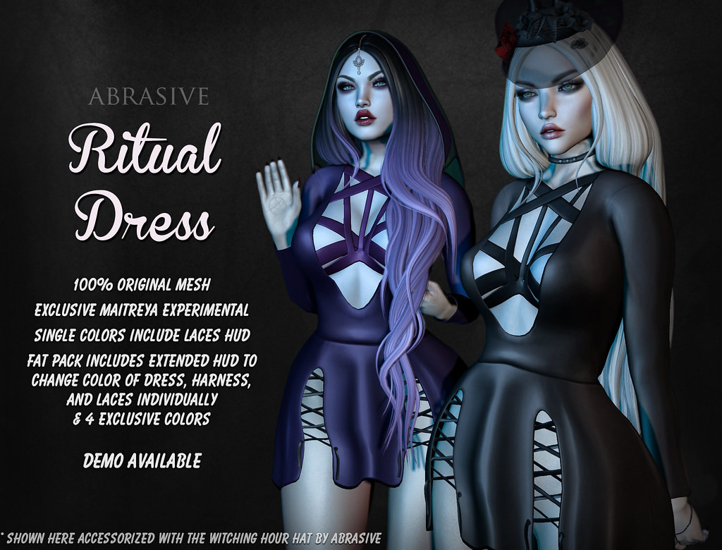 Ritual Dress @ Season of the Witch - TeleportHub.com Live!