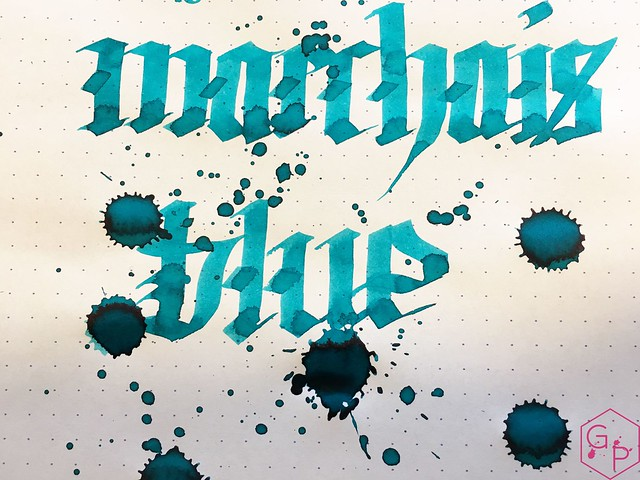 Ink Shot Review Kobe Ink #48 Marchais Blue @GoldspotPens 8