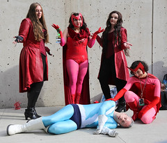 New York Comic Con 2017 - Scarlet Witch & Quicksilver