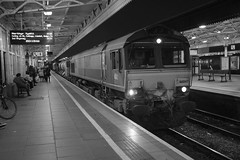 Railhead Treatment Train (RHTT) at Cardiff Central